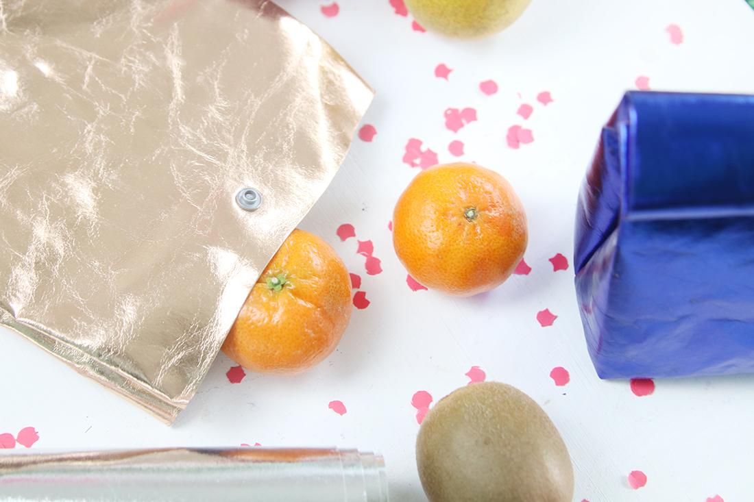 DIY Tutorial: Lunchbag aus waschbarem Papier nähen