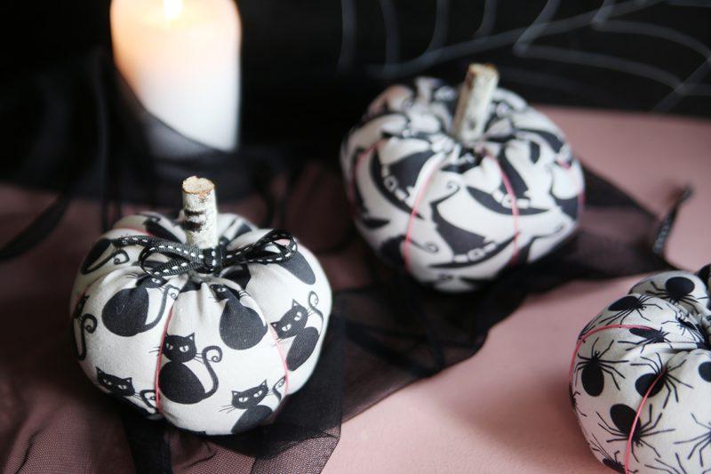 DIY Tutorial: Halloween-Kürbisse als Deko nähen