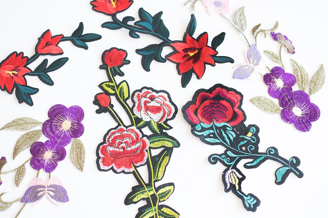 Unsere wundervollen Blumen-Patches