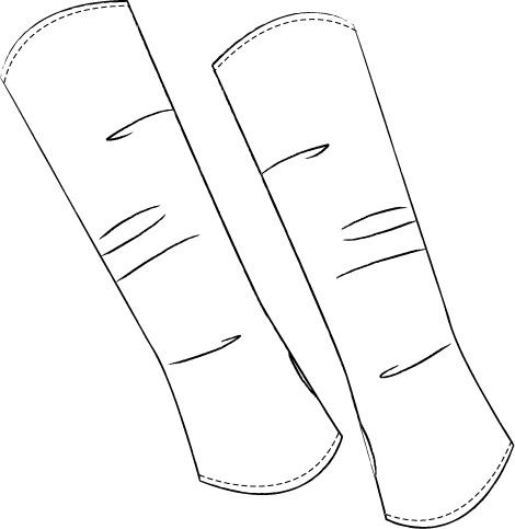 Sehr Armstulpen nähen-Tutorial | Blog • alles-fuer-selbermacher IC06