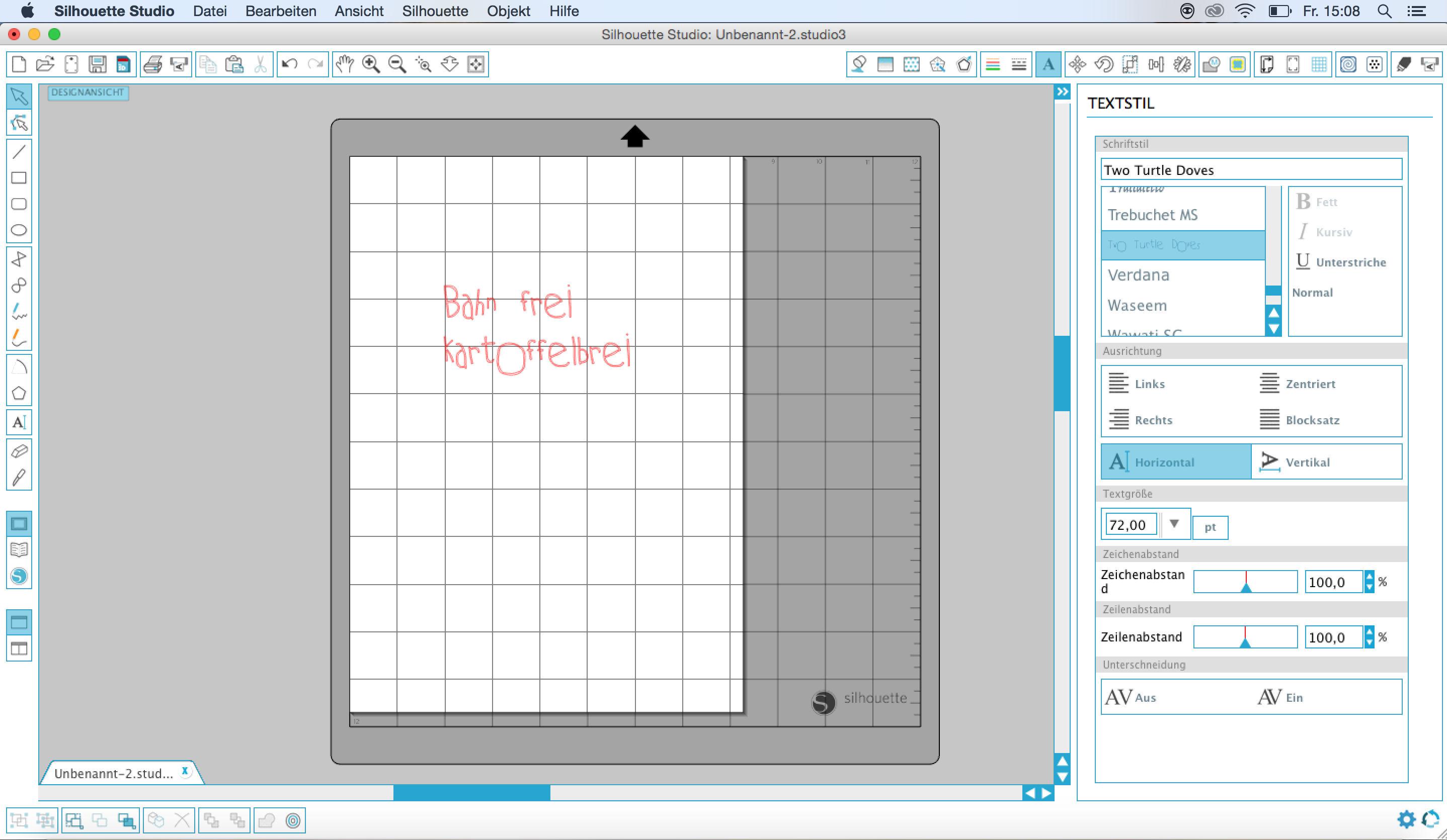 tutorial plotter schrift 22 blog alles fuer selbermacher. Black Bedroom Furniture Sets. Home Design Ideas