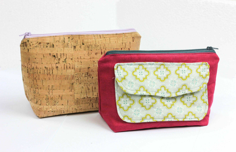 FREEBOOK: kleine Kosmetiktasche mit Reißverschluss | Blog