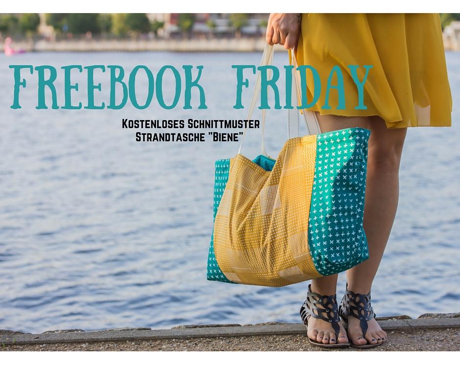 Freebook Friday: Strandtasche Biene inkl. Schnittmuster | Blog ...