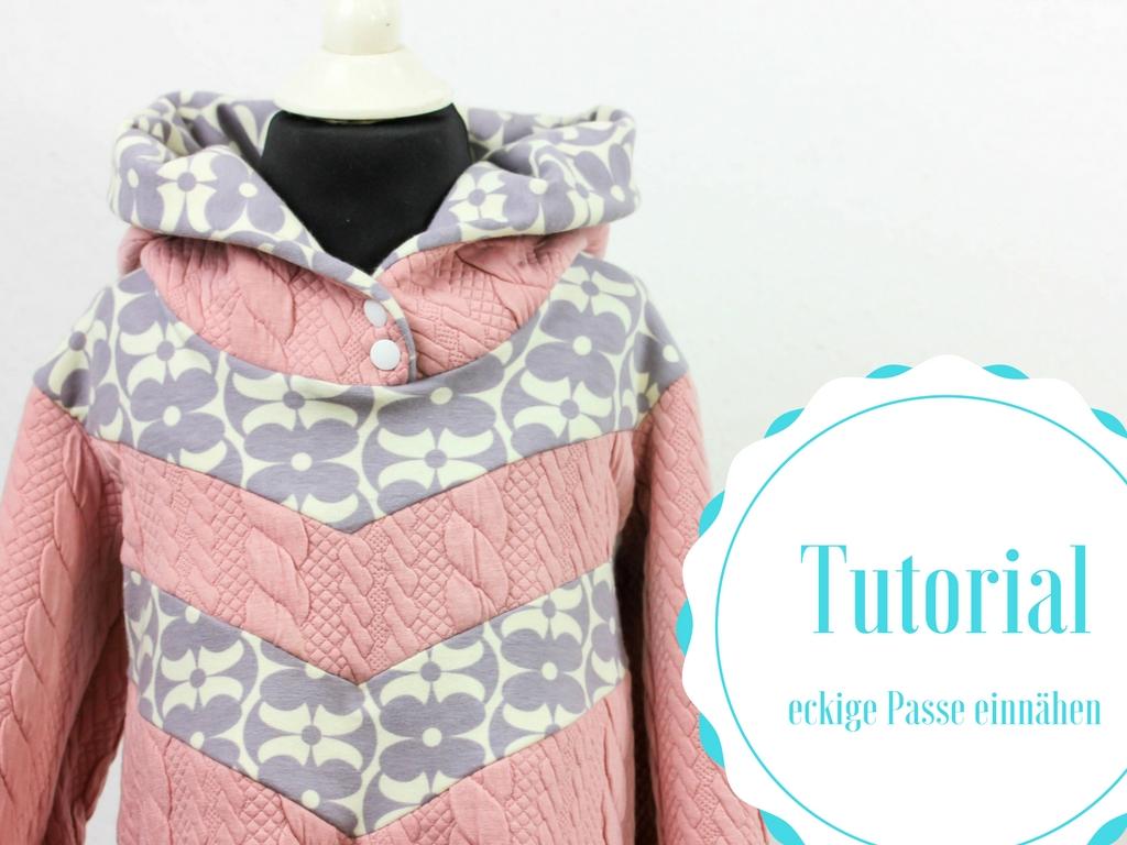 Tutorial: Pimp your Sweater – Wie man eine eckige Passe näht   Blog ...