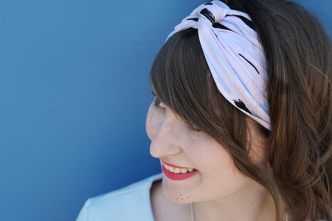 Turban Haarband Nähen Blog Alles Fuer Selbermacher