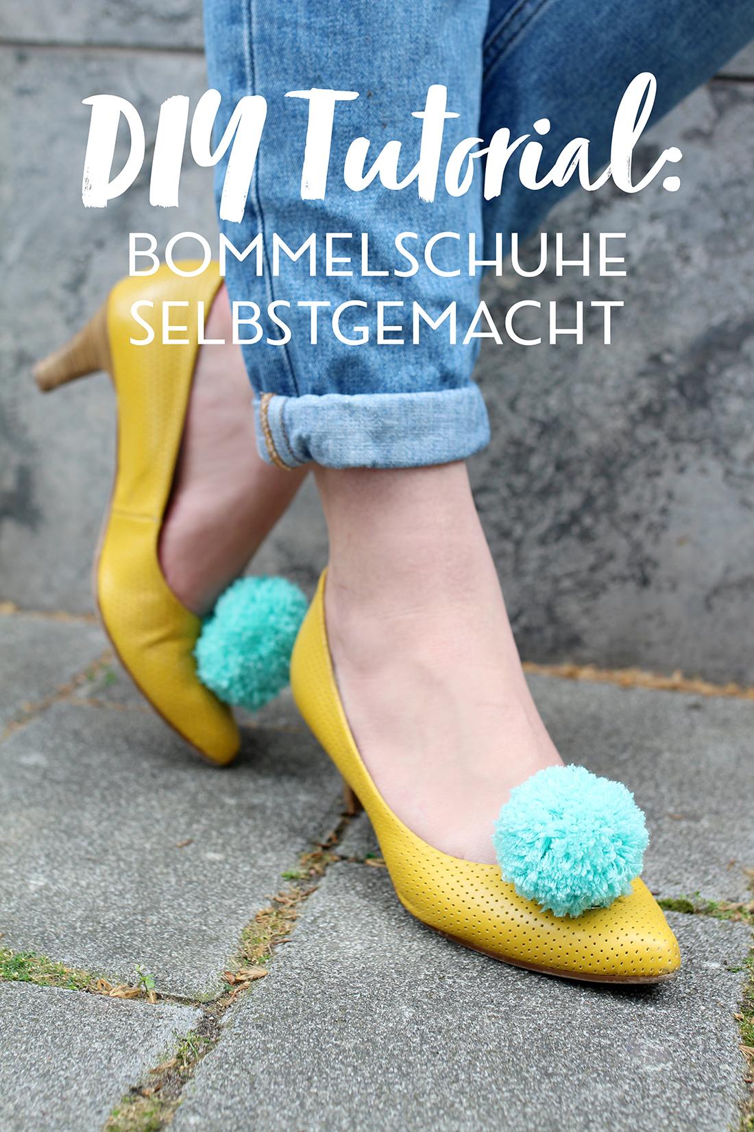Diy Blog Bommel Schuhe Selbermachen Naehblog Blog Alles Fuer