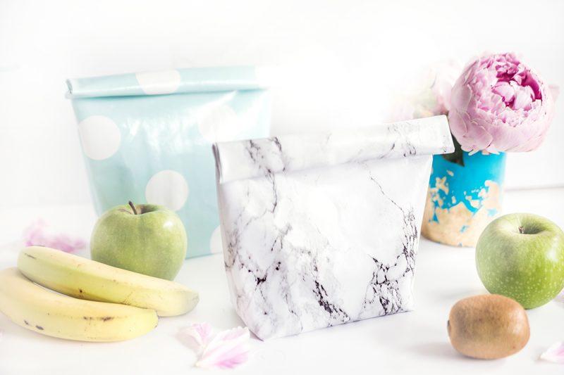 DIY TUTORIAL: Lunchbag aus Wachstuch | mit Video