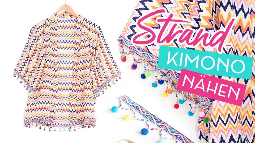 DIY Strand-Kimono nähen | Blog • alles-fuer-selbermacher